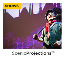 Animated and Still Projections for Musicals and Plays